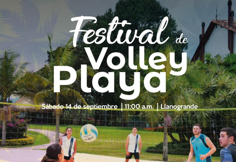Así vivimos el Festival de Volley Playa